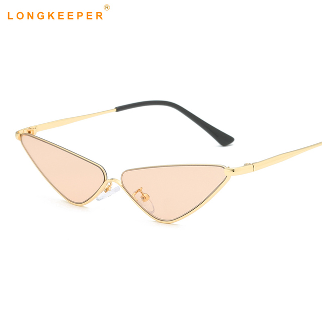 1ec32f0d6d Retro Cat Eye Sunglasses Women Small Frame Triangle Sun glasses Women  Eyewear uv400 Oculos De Sol Feminino Lunette Soleil