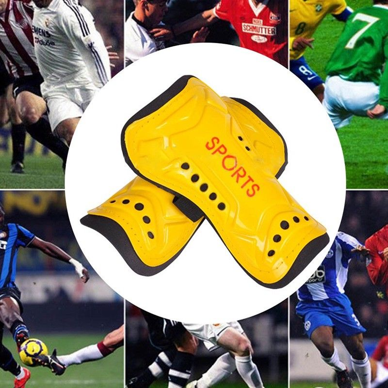 1 pair Children Soccer Training Shin Guards Ultralight Pads Football Protective Leg Protector Sports Kids Shin Brace Soft Foam
