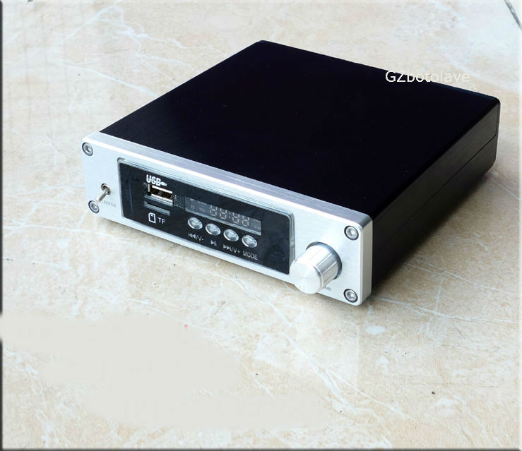 NEW arrive DP2 bluetooth 4.0 nondestructive player digital power amplifier support SD TF U disk 100W*2