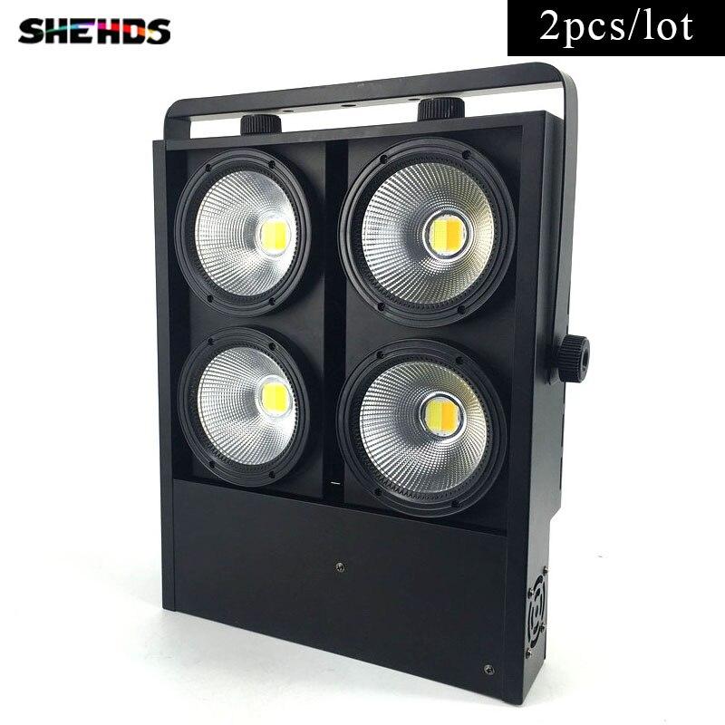 2 pcs/lot 4x100 w blinder lumière 4eye COB LED Lavage Lumière Haute puissance DMX Stade Expédition Libre et Rapide gratuite