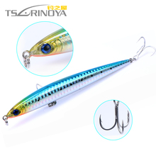 Trulinoya 1pcs DW23 Sinking Pencil Fishing Lure Style Plastic Hard Bait Fishing Lures For Trolling Artificial Bait 12.5cm/28g