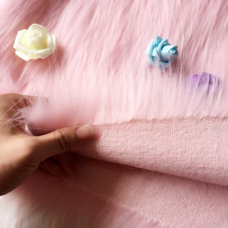 לבן לעבות הצפנת בפלאש פו פרווה בד דקור DIY בד רקמות דלפק רקע בד פרווה שטיח