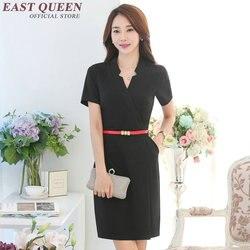 Werkkleding uniform voor vrouwen business dress kleding formele kantoor jurken voor vrouwen DD079 C