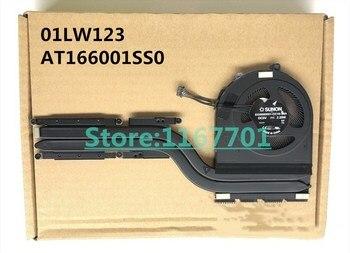 New Original Laptop/Notebook CPU cooling Radiator Heatsink&Fan for Lenovo Thinkpad E480 E580 01LW123 AT166001SS0