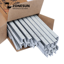 ZONESUN 1 box Buckle for Manual U shape 506 503 Sausage Clipper Clipping Machine Maker, clips for Supermarket Tightening Machine