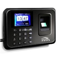 5YOA Digital Impressions biométrico presencia de reloj de tiempo grabadora empleado máquina inglesa reproductor Vocal huella Digital  contraseña