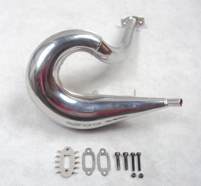 Dominator upgrate вихлопна труба для 1/5 масштабу hpi rovan baja 5b