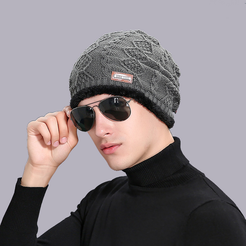Brand Unisex Men's Women's Winter Hat Warm Beanie Knitted Hats For Women Twisted Hip-hop Outdoor Ski Camping Knitting Wool Cap 2017 new wool grey beanie hat for women warm simple style bad hair day knitting winter wooly hats online ds20170123 x24