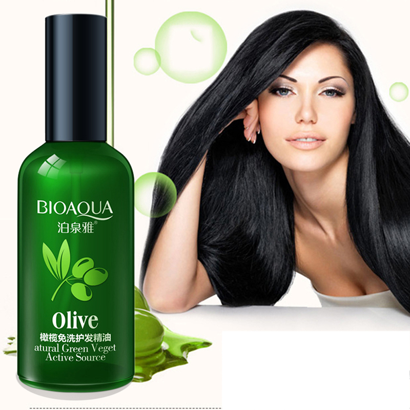 Olives Hair Care Essential Oils Hair Conditioner Nourishing Smooth Repair Dried Damaged Hair Dyed Curly Straight Hair Care image