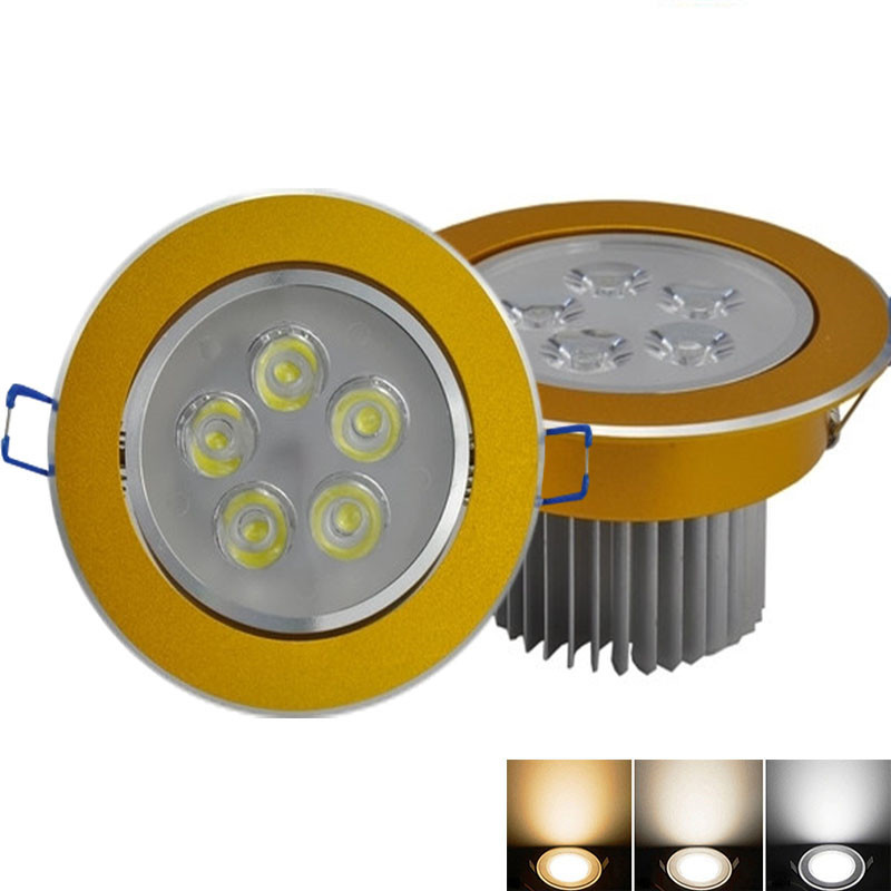 10X Dimmable LED High Power Ceiling 9W 12W 15W 21W LED Ceiling Light AC85 240V LED