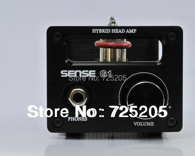 HIFI Tube Earphone Amplifier Class A 2P2 VMOS FET tube pre-amplifier USB Decoding PCM2706 TDA1305T DAC  Amp