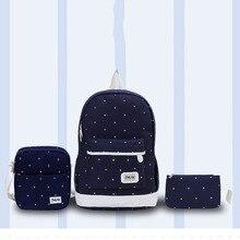 цены на Women Backpack 2019 Canvas Fashion School Backpack Women Book Bags Satchel Shoulder Rucksack Canvas Travel Bag K429  в интернет-магазинах