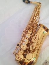 Quality Saxophone Alto Sax L&K YAS 62 EX Professional E-flat Gold Saxofone Top Musical Instruments