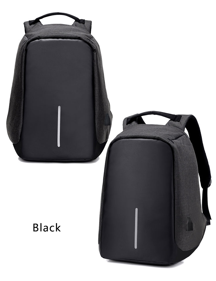 Third Generation USB Charge Anti Theft Backpack 15inch Laptop Backpacks Fashion Bags Bagpack Blue 15inch 24