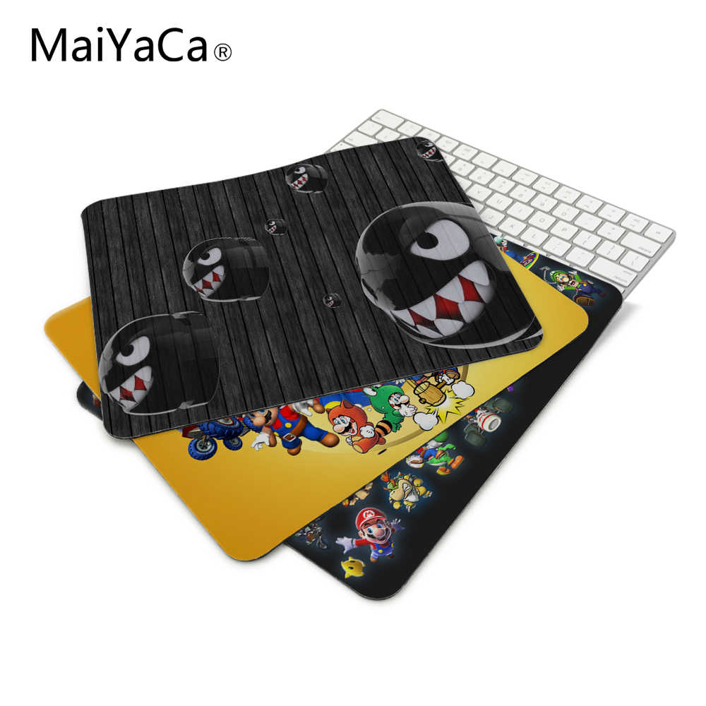 New Arrivals Luxury SUPER MARIO BROS VIDEO GAMES Game Gaming Mouse Mats Anti-Slip Rectangle Mouse Pad