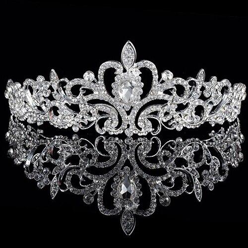 HTB1CcPCNpXXXXcjapXXq6xXFXXXS Luxurious Wedding Headpiece Europe Style Diamante Rhinestone Crystal Bridal/Party/Pageant/Cosplay Crown Tiara For Women