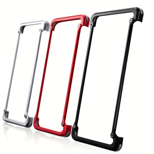 Image 3 - Original Aluminum Metal Bumper Case For Samsung Galaxy S10e Luxury Slim Hard Airbag Drop Protection Case for Samsung S10e Cover