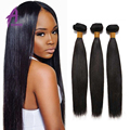 Indian virgin hair straight 3bundles Indian remy straight hair 10a raw virgin indian hair brown silky straight hair bundle deal