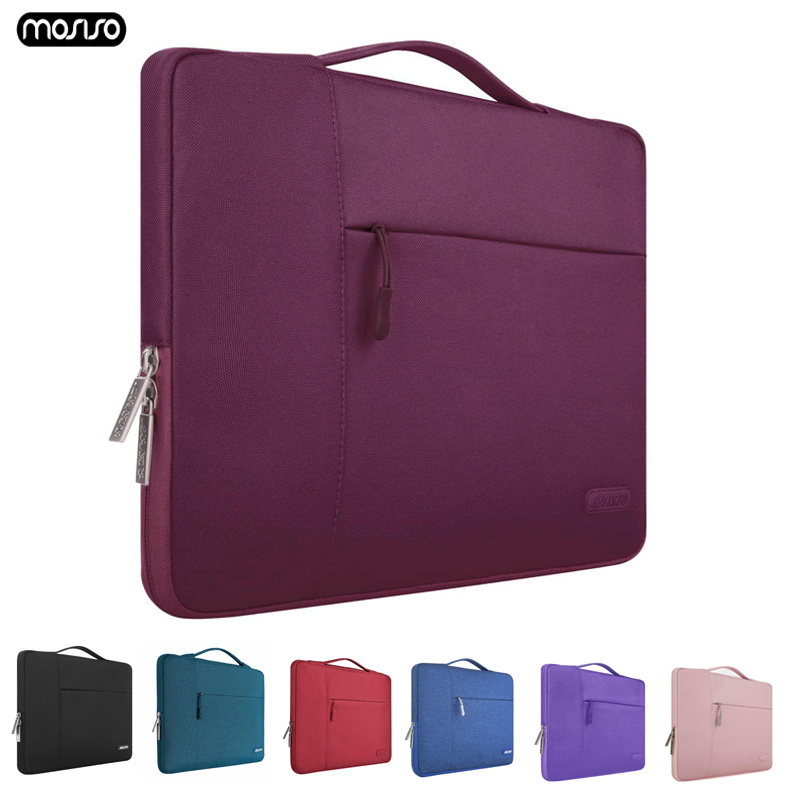 MOSISO Laptop Bag Case 11.6 12 13.3 14 15 15.6 Inch For Men Women Waterproof Notebook Bag For Macbook Air Pro 13 15 Laptop Case-in Laptop Bags & Cases from Computer & Office