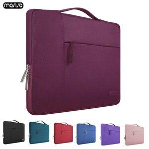 Image 1 - Mosiso 11 12 13 14 15 인치 노트북 가방 남성용 여성용 노트북 슬리브 케이스 2018 new macbook pro 13.3 15.6 컴퓨터 바