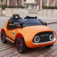 Детский электромобиль четыре колеса качели двойной двигатель для маленьких мальчиков ездить на машине удаленного Управление электрически