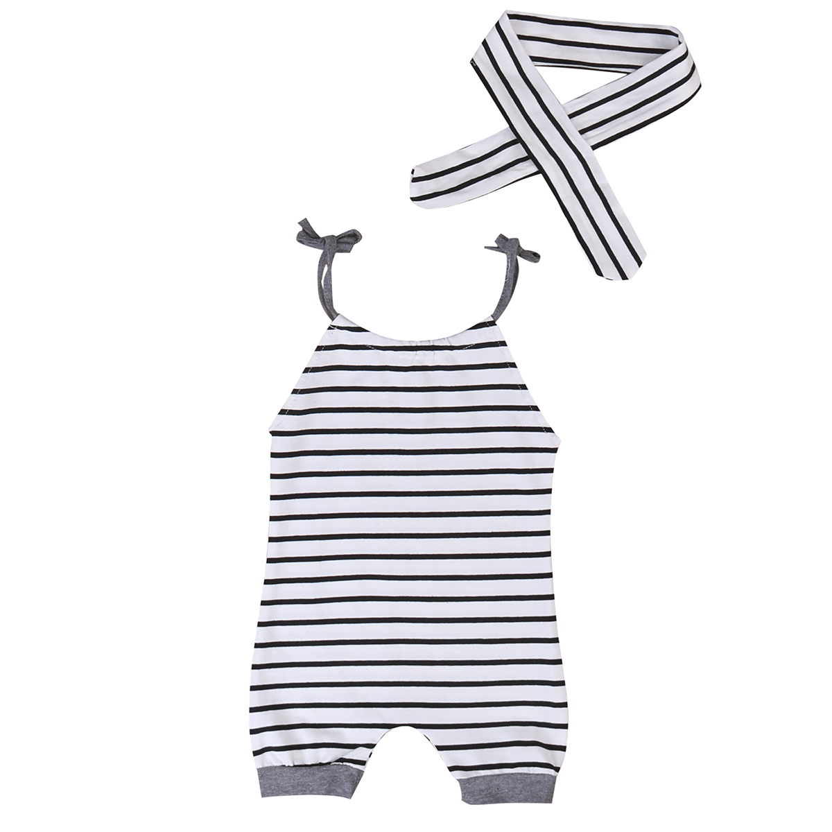 Newborn Toddler Baby Boys Girls Clothes Romper striped +Headband Infant Girl Rompers baby Boy Outfits newborn baby rompers baby clothing 100% cotton infant jumpsuit ropa bebe long sleeve girl boys rompers costumes baby romper