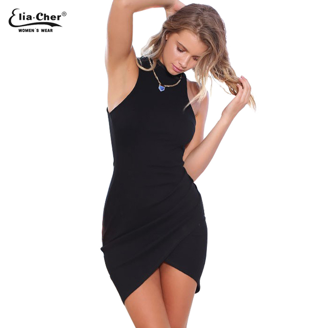 43fc1a5a72f Femmes moulante robe Chic d été robes Eliacher marque grande taille  décontracté femmes vêtements Sexy