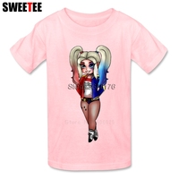 Suicide Squad Children S T Shirt Infant Cotton O Neck Kid Tshirt 2018 Harley Quinn Toddler