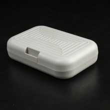 Maximumcatch 3 Pieces High Quality Fly Fishing Box Small White Color With Swing Leaf Plastic Fly Box