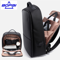 Popular Design Men Backpack Travel Bags With USB Port Waterproof High Quality Anti Cutting Male Big