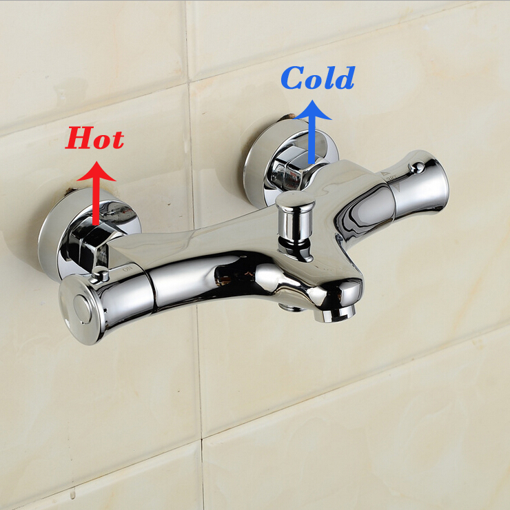 Thermostatic shower faucet Bathroom Wall Mounted thermostatic ...