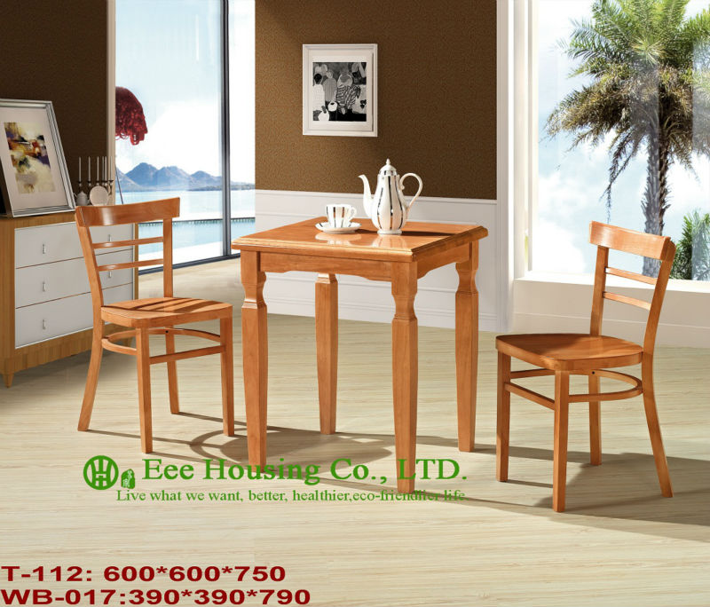 T-112,WB-017    Luxurious Solid Dining Chair,Solid Wood Dinning Table Furniture With Chairs/Home Furniture