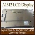 Genuino nuevo a1312 asamblea pantalla lcd con vidrio frontal completa para apple imac 21.5 ''2009 año lm270wq1-sda2 probado de trabajo
