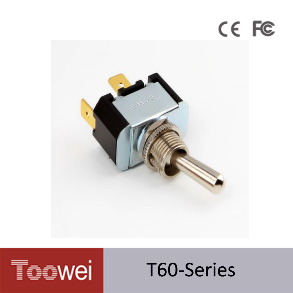 T702mw Toowei 6p On Off Double Momentary Toggle Switchscrew Pole Throw Rocker Switchdoublepoles T6011t 10a 250vac 15a 125vac Switch Two Pins Quick Connect Termianls