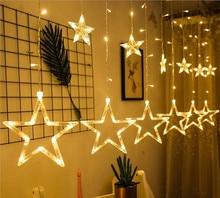 138 Stars/Wishing balls Christmas Led Lighting String Garland Lamp Decorations
