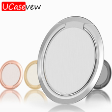Ultra-thin Finger Ring Holder for iPhone X Samsung Huawei Case Cover Mobile Phone Stand Accessories Metal Bracket Holders