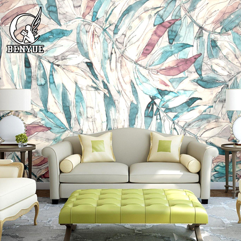 Modern floral 3d wallpaper home decor custom flower mural wall paper living room decoration wall mural papel de parede wallpaper modern anchos travelling boat modern textured wallcoverings vintage kids room wall paper papel de parede 53x1000cm