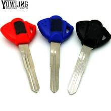 Motorcycle Motocross Accessories keys rings Keys Embryo Uncut Keyring for GSXR1000 GSXR600 GSXR750 Hayabusa GSX1300R GSX650