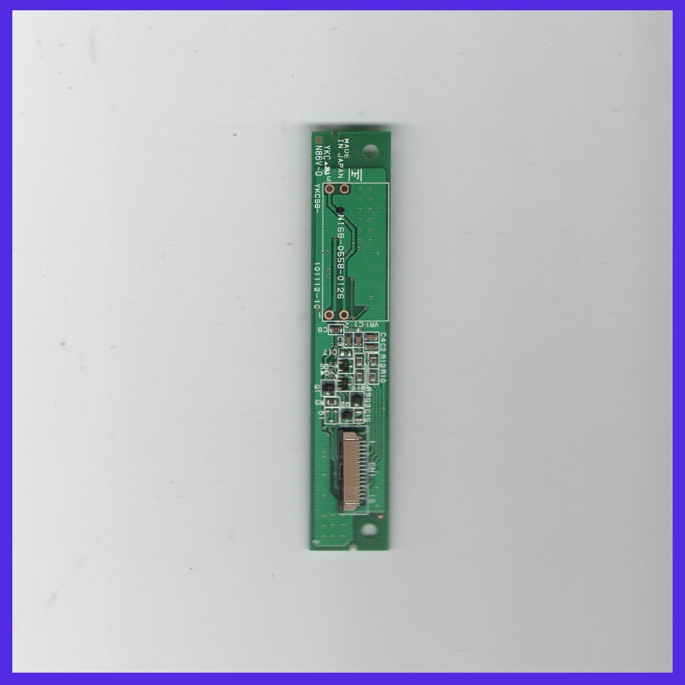 ZhiYuSun N16B-0558-0126 control card    N320-0558-T121  N16B-0558-0121 used N010-0551-T541 touchscreens glass n010 0551 t248