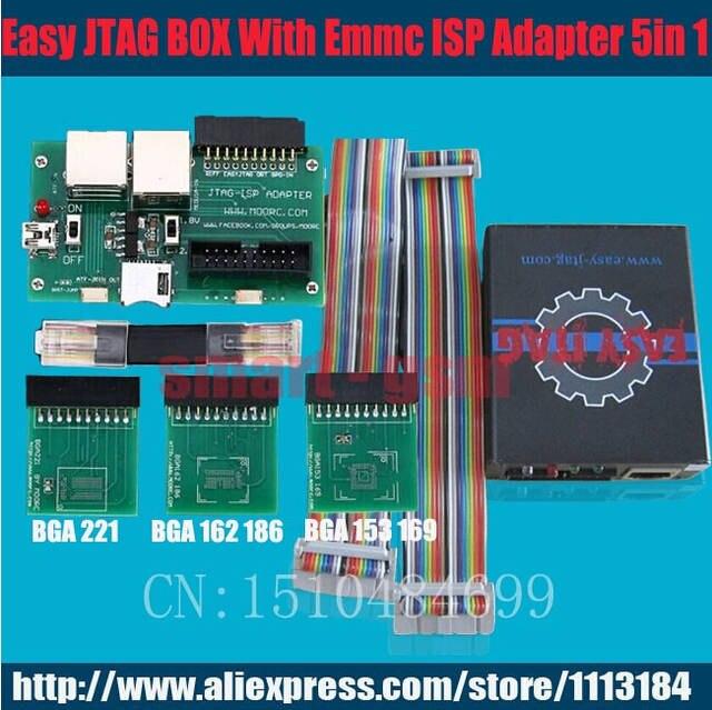 100% original new Easy Jtag Z3x EasyJtag z3x JTAG PRO with Emmc