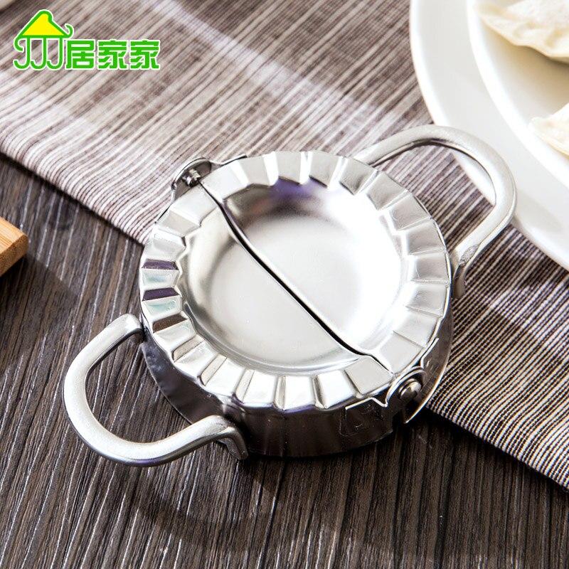 Creative stainless steel kitchen utensils dumplings, a pressure dumpling  skin mold making dumplings