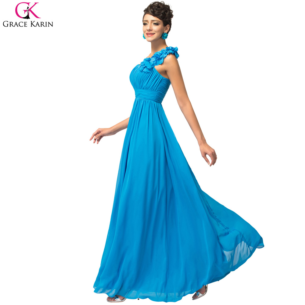 Grace Karin Blue Champagne Red Pink Purple Cheap Bridesmaid Dresses ...
