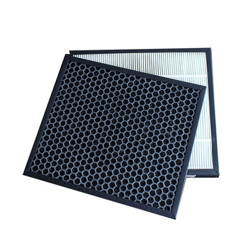 For Panasonic Air Purifier F-PXJ30C F-PDJ30C F-30C3PD Dust Collection Hepa Filter F-ZXJP30C Actived Carbon Filter 285*250mm 405 240 35mm high efficiency collect dust hepa filter and activated carbon filter of air purifier parts for f vxh50c f pxh55c et