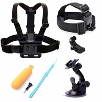 For SJCAM Accessories Chest Head Strap Floaty Bobber Mount For Gopro Hero 4 3 2 Xiaomi