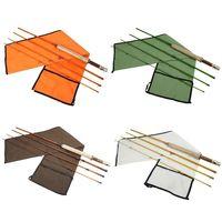 Aventik 4 Colors Fiberglass Fly Rod Medium Action Super Light Fiber Glass Transparent Colors Fly Fishing