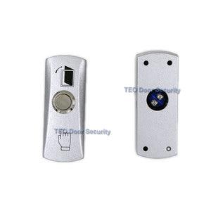Image 2 - Кнопка выхода двери кнопочный переключатель легированной пластины стальная Кнопка поверхностного монтажа 12в 36в для всех видов узкой дверной рамы