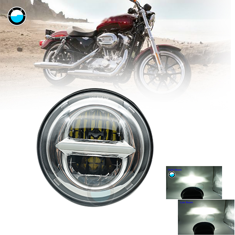 5.75 inch LED Headlight for Harley Dyna Sporter Street Bob FXDB 5 3/4