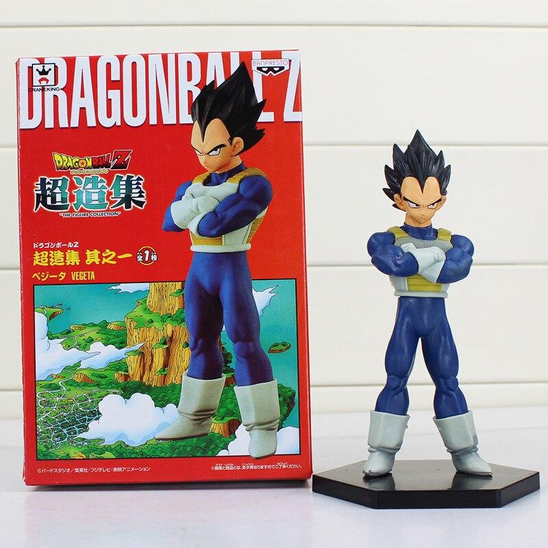 Dragon Ball Z Anime Super Saiyan Vegeta Stand State PVC Action Figures Dragon Ball