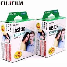 2018  Fujifilm Instax 2 boxes 20 Sheet SQUARE White Edge film Photo paper For Instax SQUARE SQ10 Hybrid share sp-3 SQ Camera