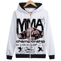 MMA Champship Fight Hoodie Unique Design Off White Hoodie Sweatershirt Muay Thai Boxing Jacket Coat Cool